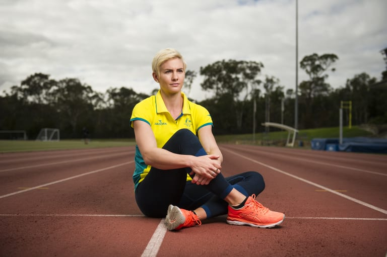 Melissa Breen will have a lighter competition schedule this summer as she recovers from injury.