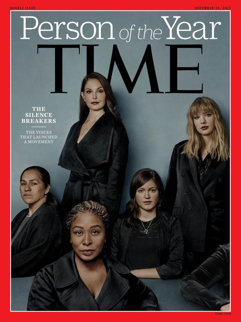 The cover of Time magazine.