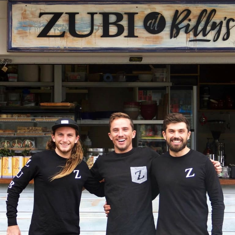Barista brothers: Alex (32), Sam(29)and Nick(25) Todman, all baristas on Sydney's Northern Beaches.