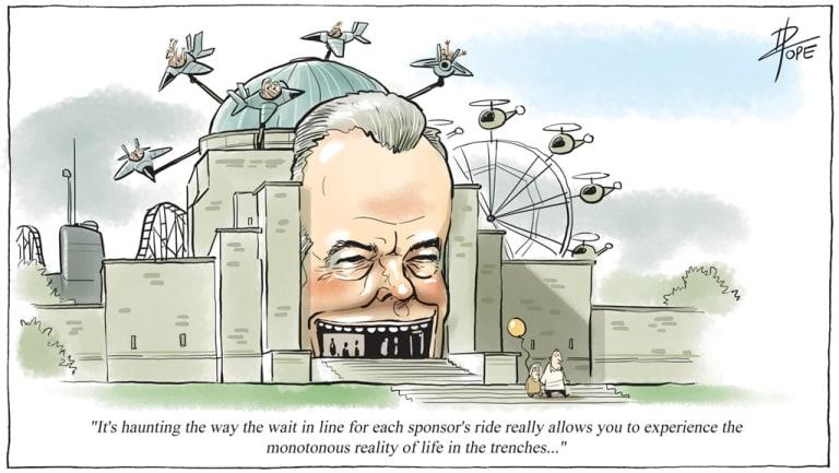 <i>The Public Sector Informant</i>, June 2018. Cartoon: David Pope