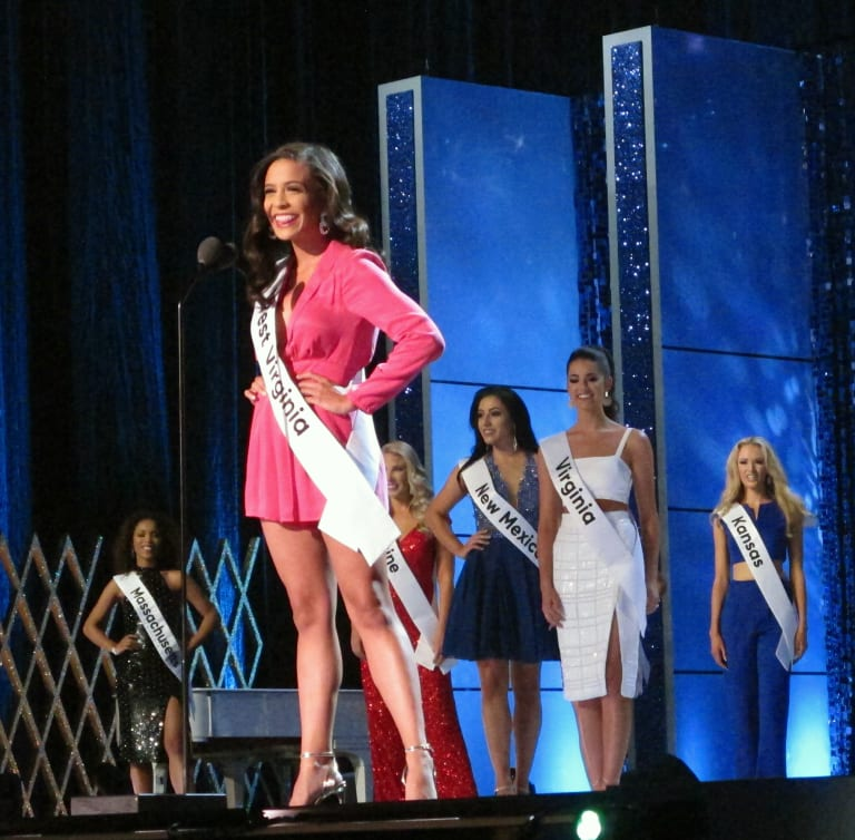 Miss West Virginia causes controversy at Friday night's competition.