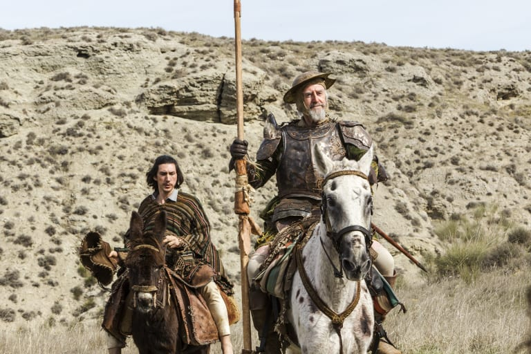 The eyebrows have it: Jonathan Pryce had wanted to play Quixote for years before Gilliam finally gave him the role.