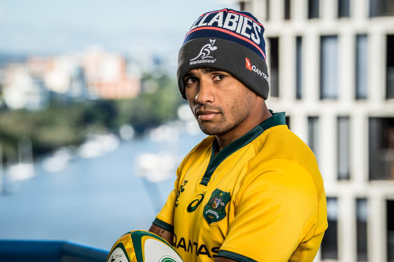 Determined: Wallabies halfback Will Genia in Brisbane ahead of this weekend's first Test against Ireland.
