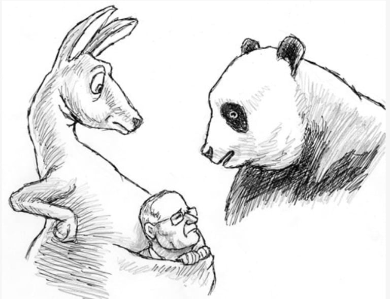 How China's Global Times depicted the rise of Scott Morrison.
