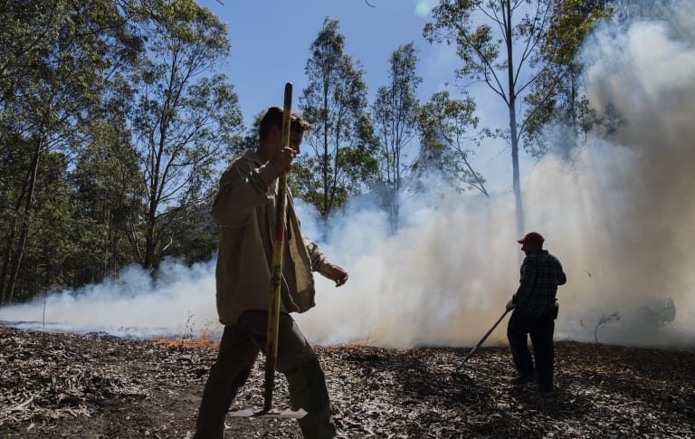 Indigenous fire management techniques are being used at Bundanon, Arthur Boyd's 'gift to the nation', on the NSW South Coast.