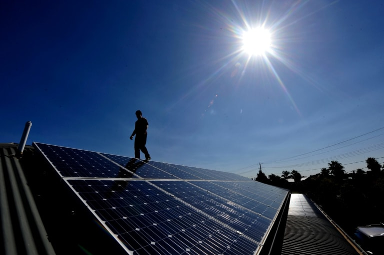 Australia has the world's highest level of available solar resources.