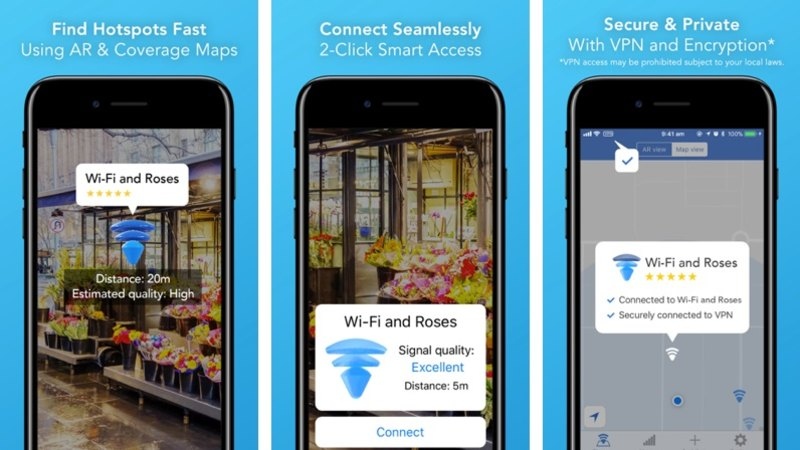 New app lets you see free Wi-Fi through your camera