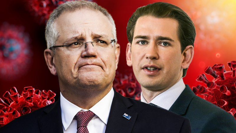'Very different than in March': Sebastian Kurz Morrison's unlikely new ally looks to second wave – Sydney Morning Herald