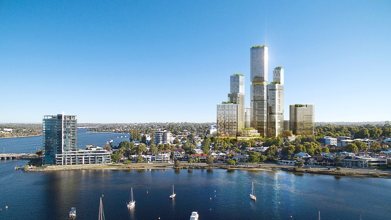 'Big Applecross': High rise aspiration for exclusive riverside suburb