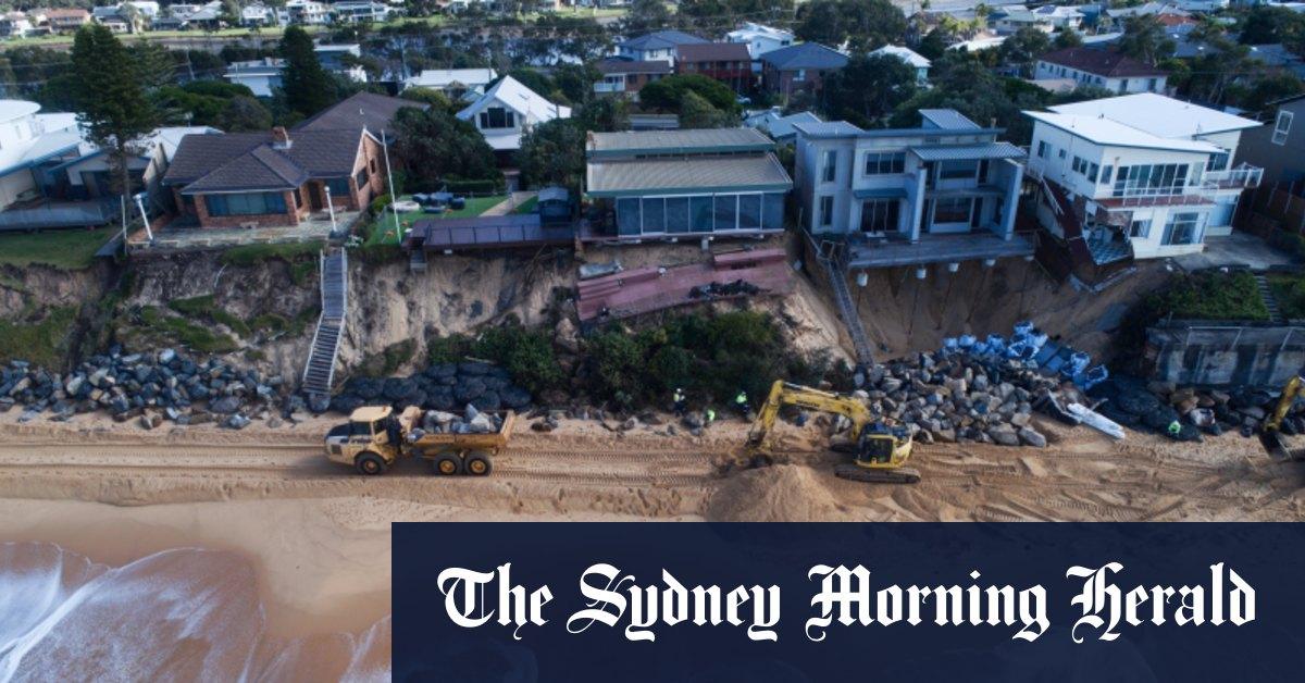 NSW coastal erosion risks 'underestimated' on Northern Beaches as more Sydney wild weather forecast – The Sydney Morning Herald