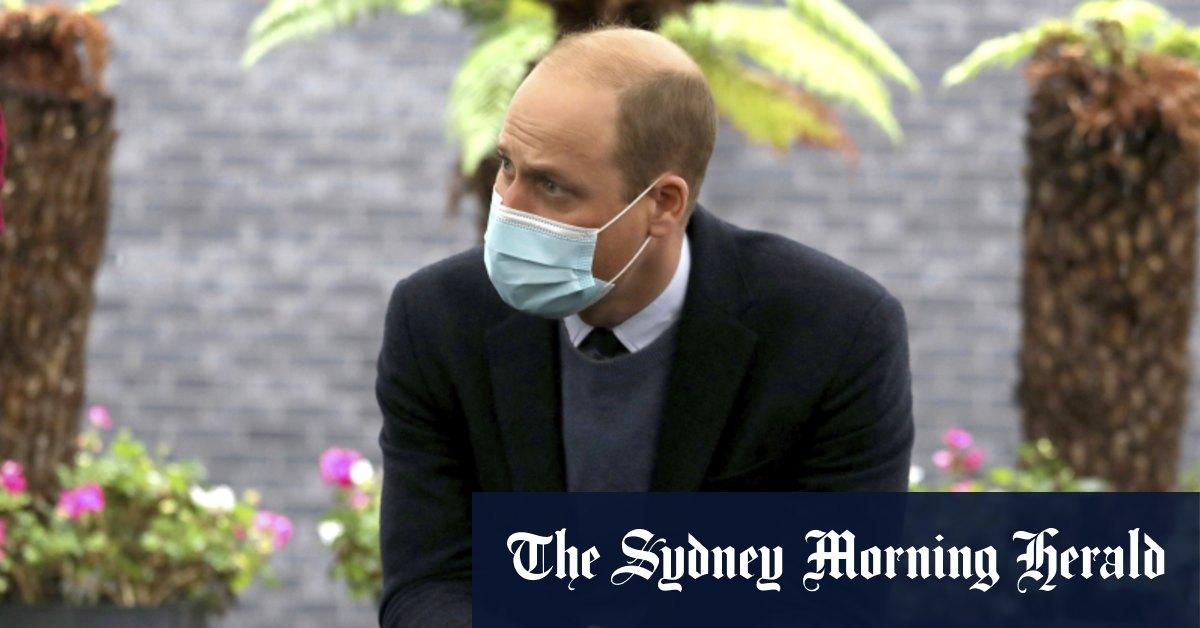 Prince William had COVID-19 but kept diagnosis secret – Sydney Morning Herald