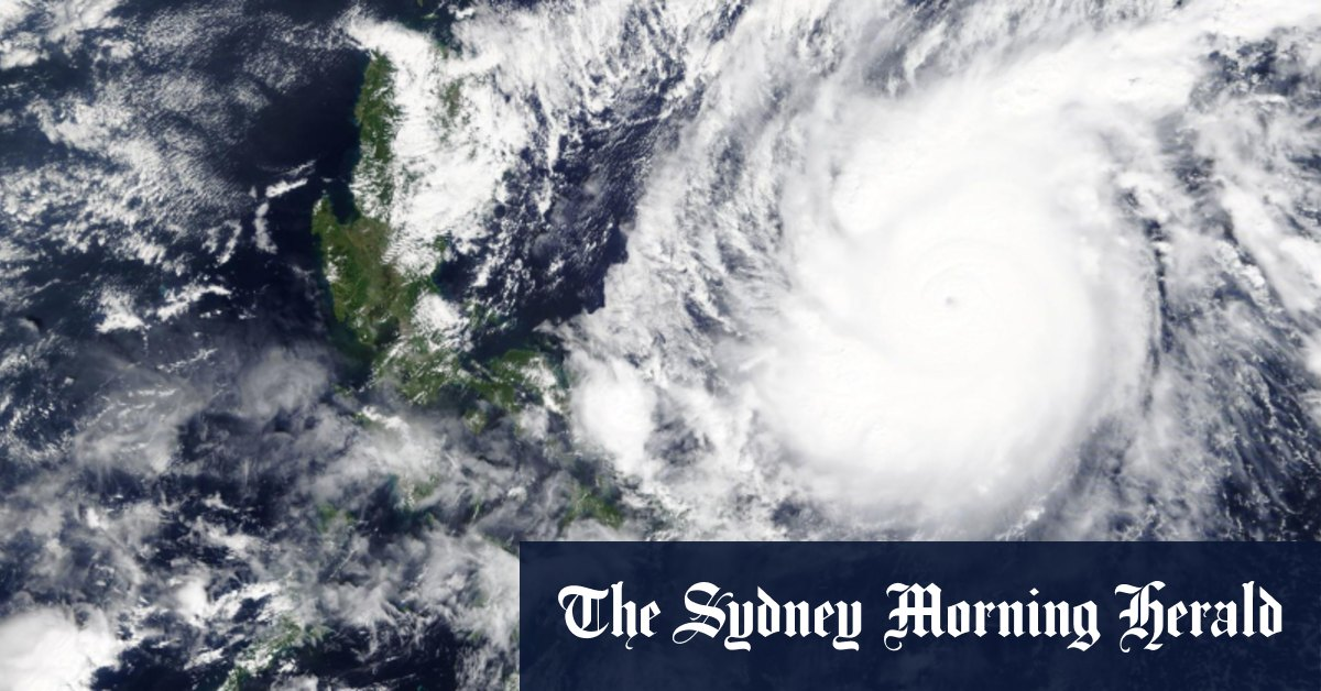 Strongest typhoon of the year to hit Philippines one million evacuated – Sydney Morning Herald