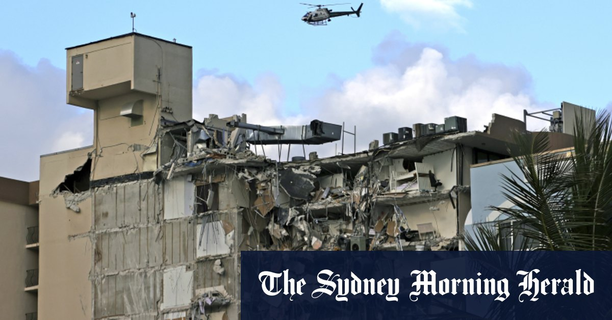 Australians feared among the missing in Miami apartment collapse – Sydney Morning Herald