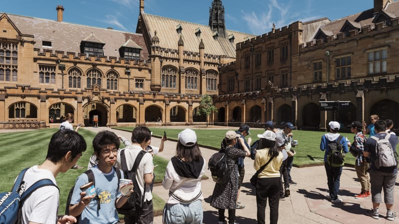 Students from China, India and Nepal surge at Australian universities despite jobs squeeze