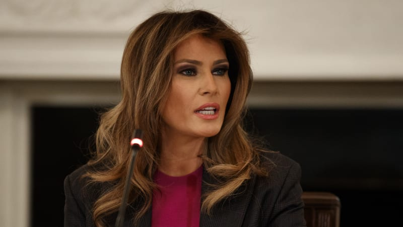 Melania Trump released from hospital