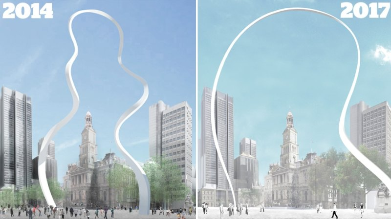 City of Sydney's Cloud Arch sculpture approved in fiery