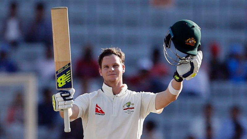 Australia v India: Steve Smith century leads Australian charge on day one
