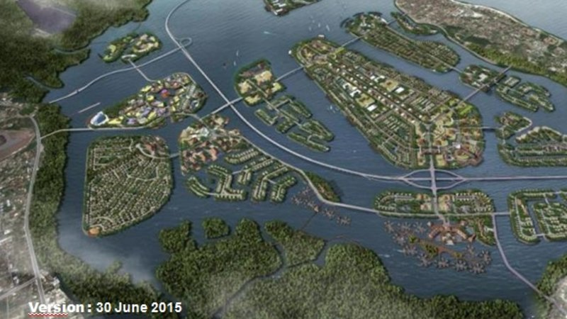 $3 billion islands project for Bali's Benoa Bay has locals