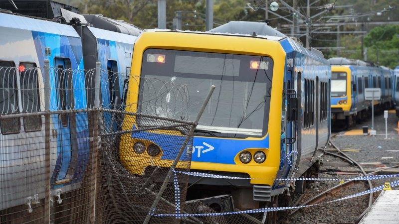 Hurstbridge train derailing: police arrest suspect on arson