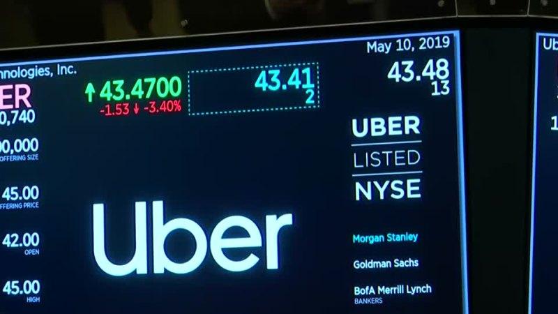 Uber posts $1.45b loss