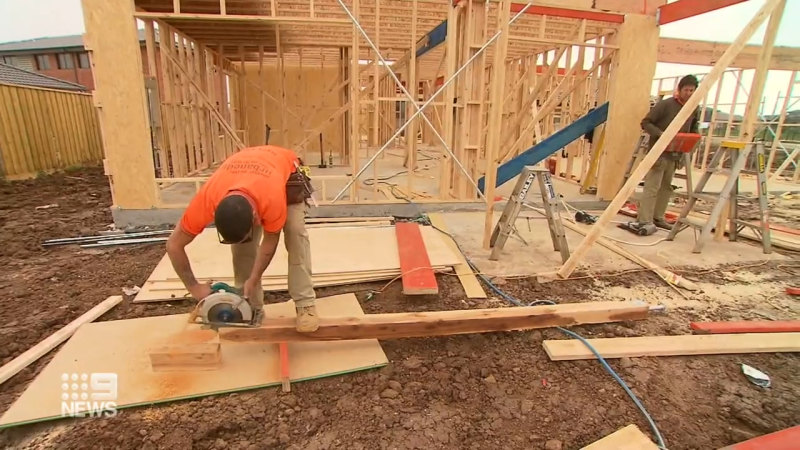 Building boom sees prices soar