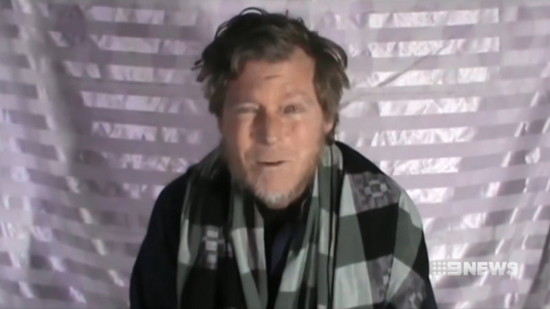 Australian hostage released from Taliban