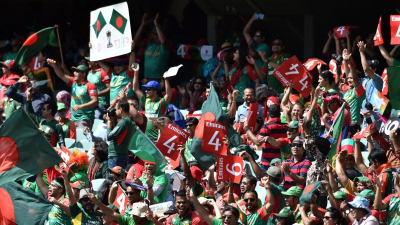 Cricket World Cup: Passionate fans give Bangladesh a lift