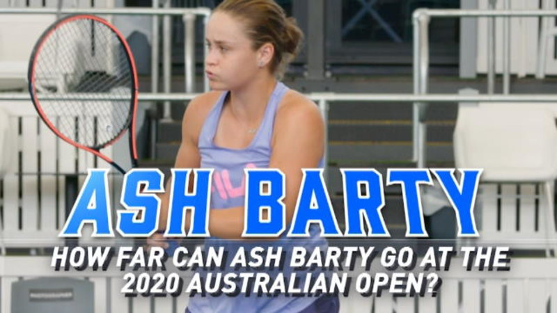 How far can Ash Barty go at the Australian Open?