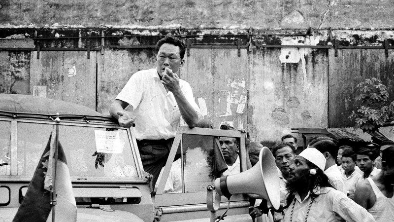 Lee Kuan Yew: a towering figure who crushed those who crossed him