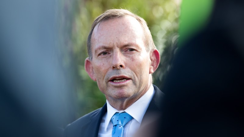 It's not about me: Abbott pledges PM backing