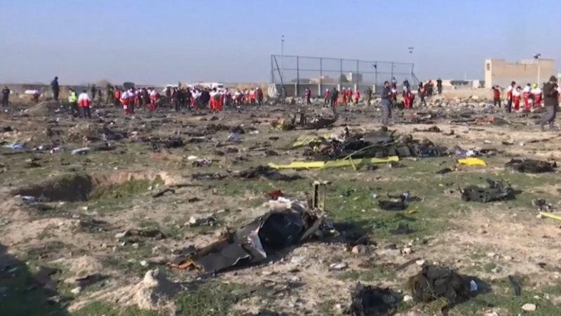 Claims Iran shot down Ukrainian plane