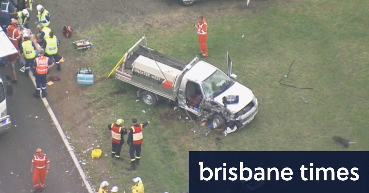 Video: Car crash at Agnes Banks