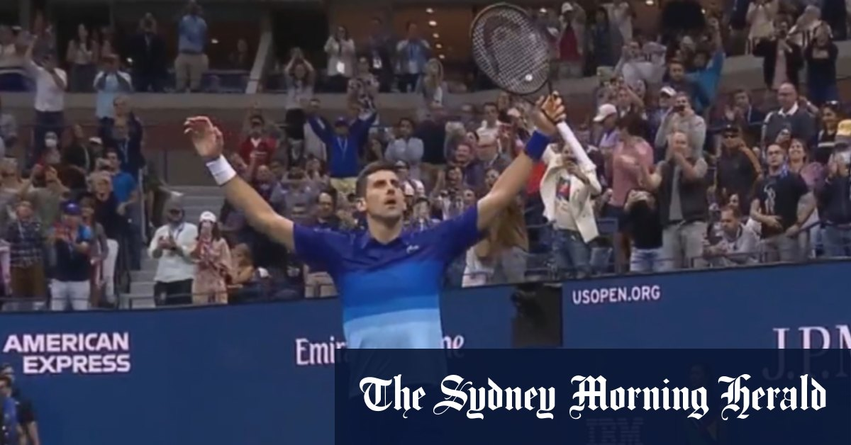 Djokovic seals place in US Open final - The Sydney Morning Herald