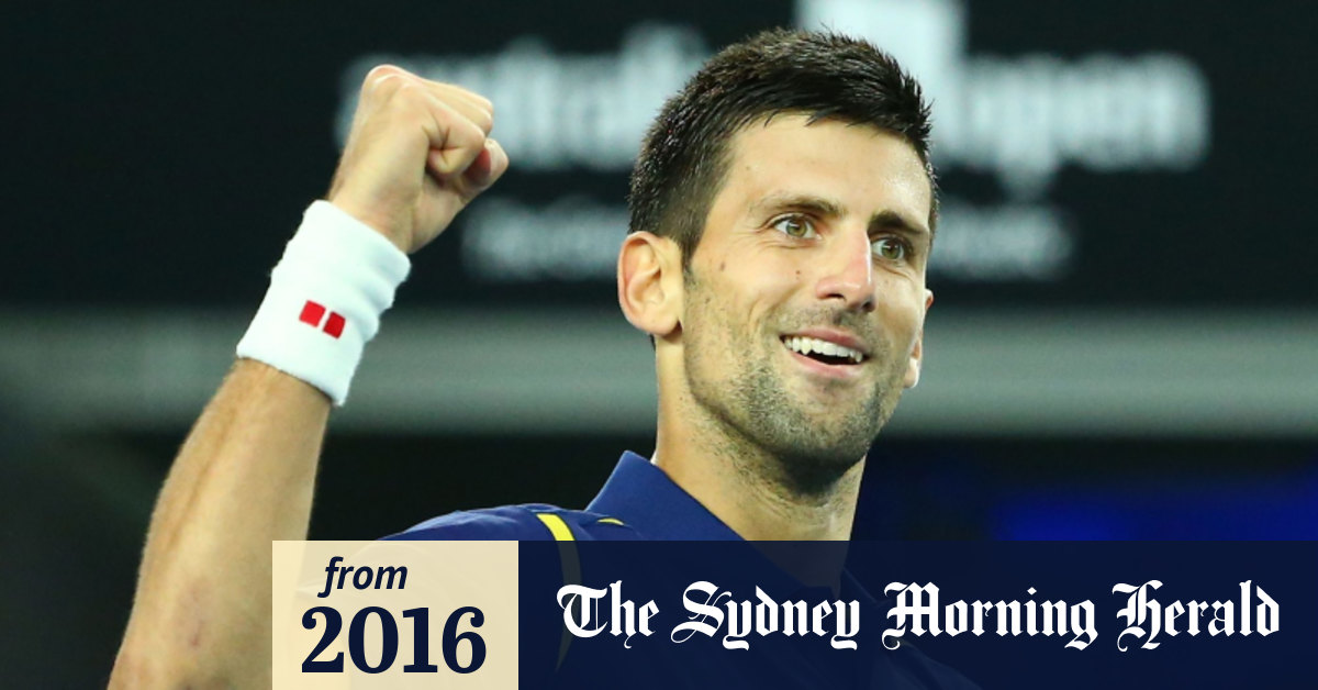 Australian Open 2016 Novak Djokovic Has Come A Long Way From His Dyed Hair Day