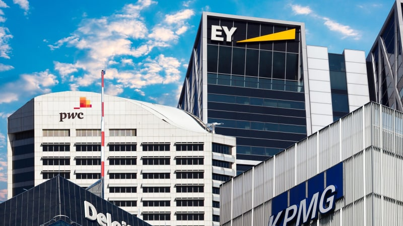 Deloitte, EY, KPMG and PwC bigger than ever