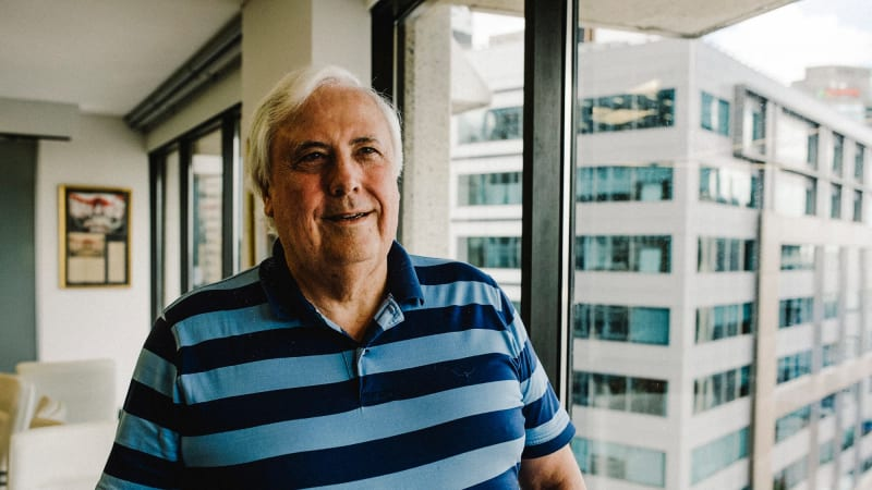 6e66b9f1399 Clive Palmer says he is serious about building new coal-fired power station  in Galilee Basin