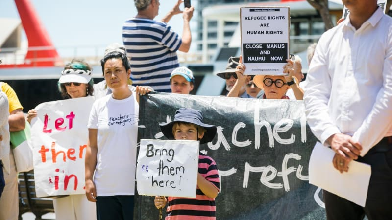 refugees in australia Australia's indefinite detention of refugees sees children beaten and stoned by guards, suicidal teens, and despairing adults who set themselves alight.
