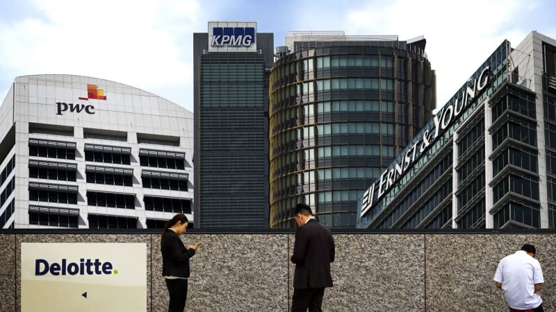 PwC, EY, KPMG, Deloitte could go out of business, new book