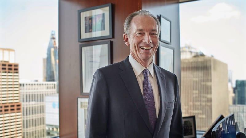 Morgan Stanley CEO James Gorman is the Australian fixing