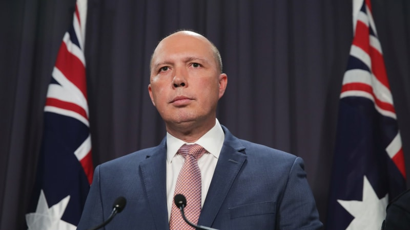 Peter Dutton cold on Labor amendments to Coalition encryption bill