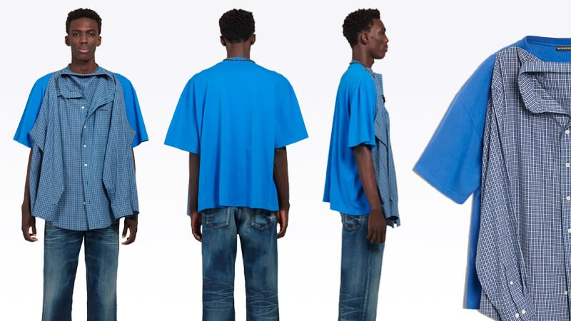 40df62b85 Balenciaga has made a $1700 shirt on a T-shirt. And people are mad