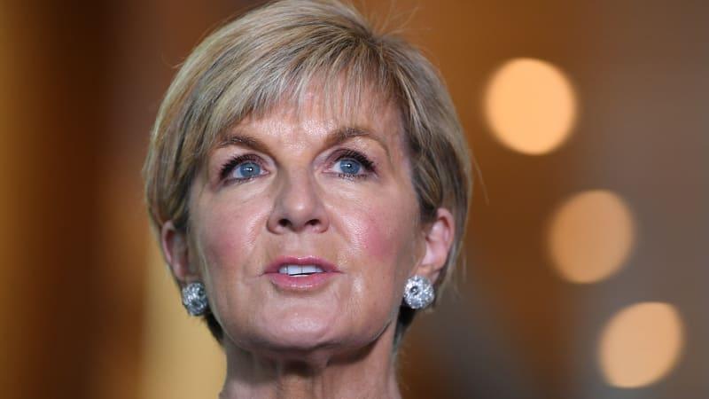 julie bishop backs british demands for answers on russia