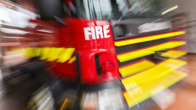 suspicious fire rips through units in altona. Black Bedroom Furniture Sets. Home Design Ideas