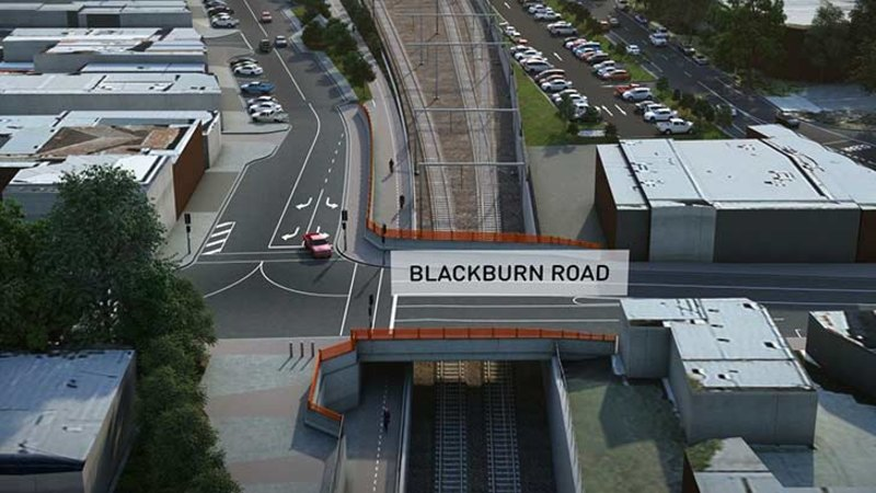 Video blackburn level crossing removal underway - Blackburn swimming pool opening times ...