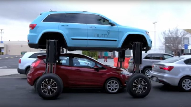 The Hum Rider: The car that drives over the top of traffic