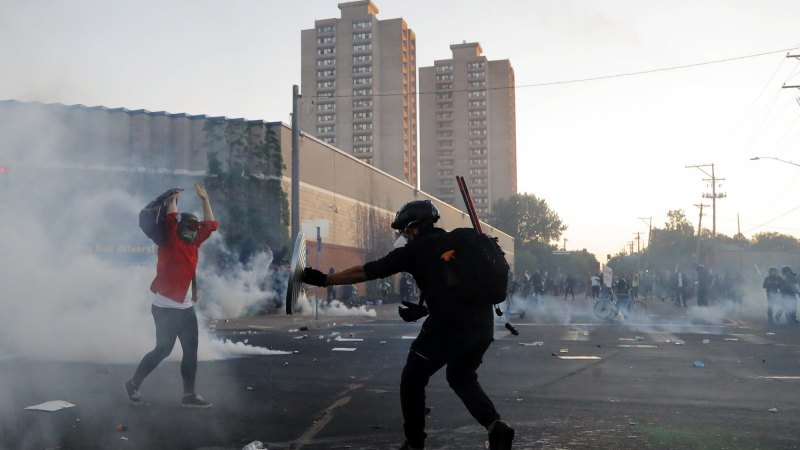 Tablet interactive: US riots