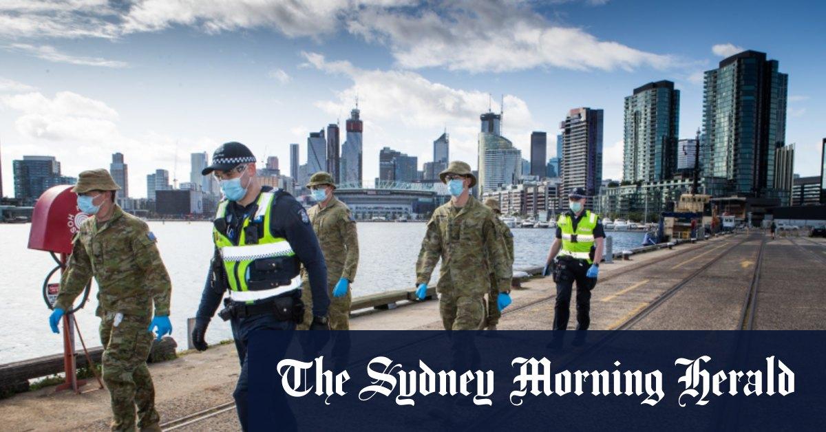 Photo of Melbourne's hard lockdown
