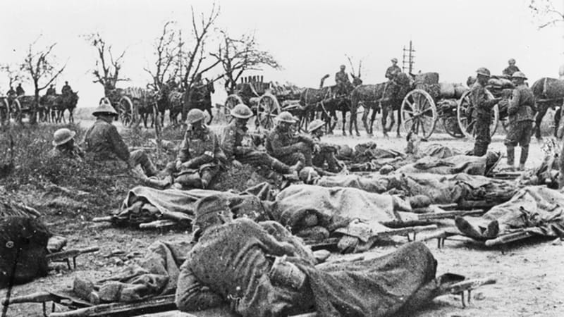 100 years on  australians and british recapture villers