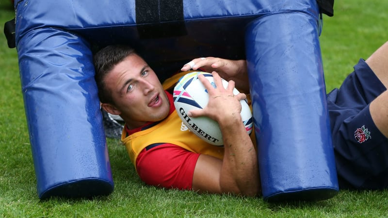 Rugby World Cup 2015: Sonny Bill Williams keen to avoid Sam Burgess' shoulder
