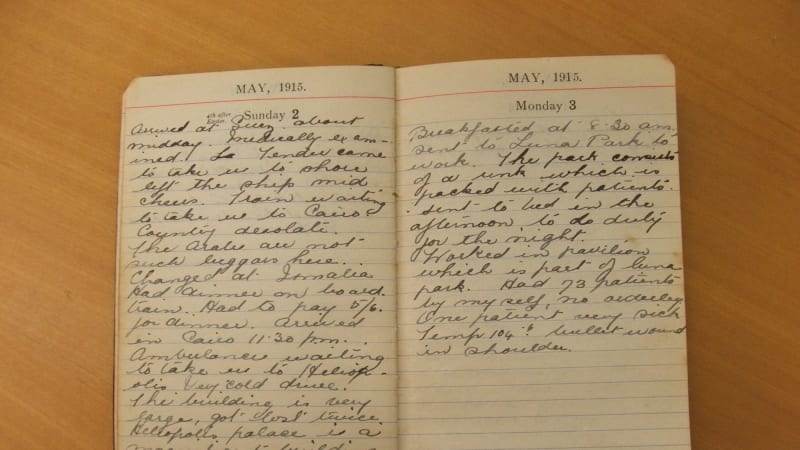 letter home nurse ww1 Nurses experienced war in different ways and wrote about this in their letters  home this project explores nurses' embodiment of this experience, particularly.